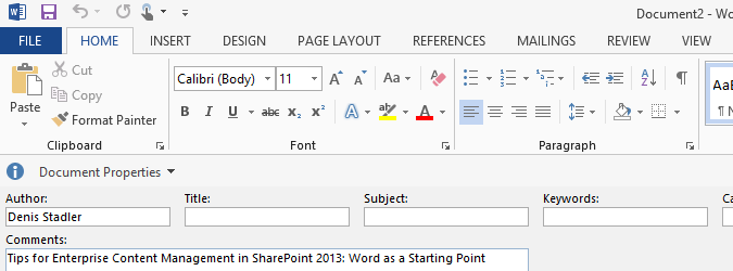 word-default-document-properties